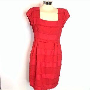 Nanette Lepore fringe sheath dress